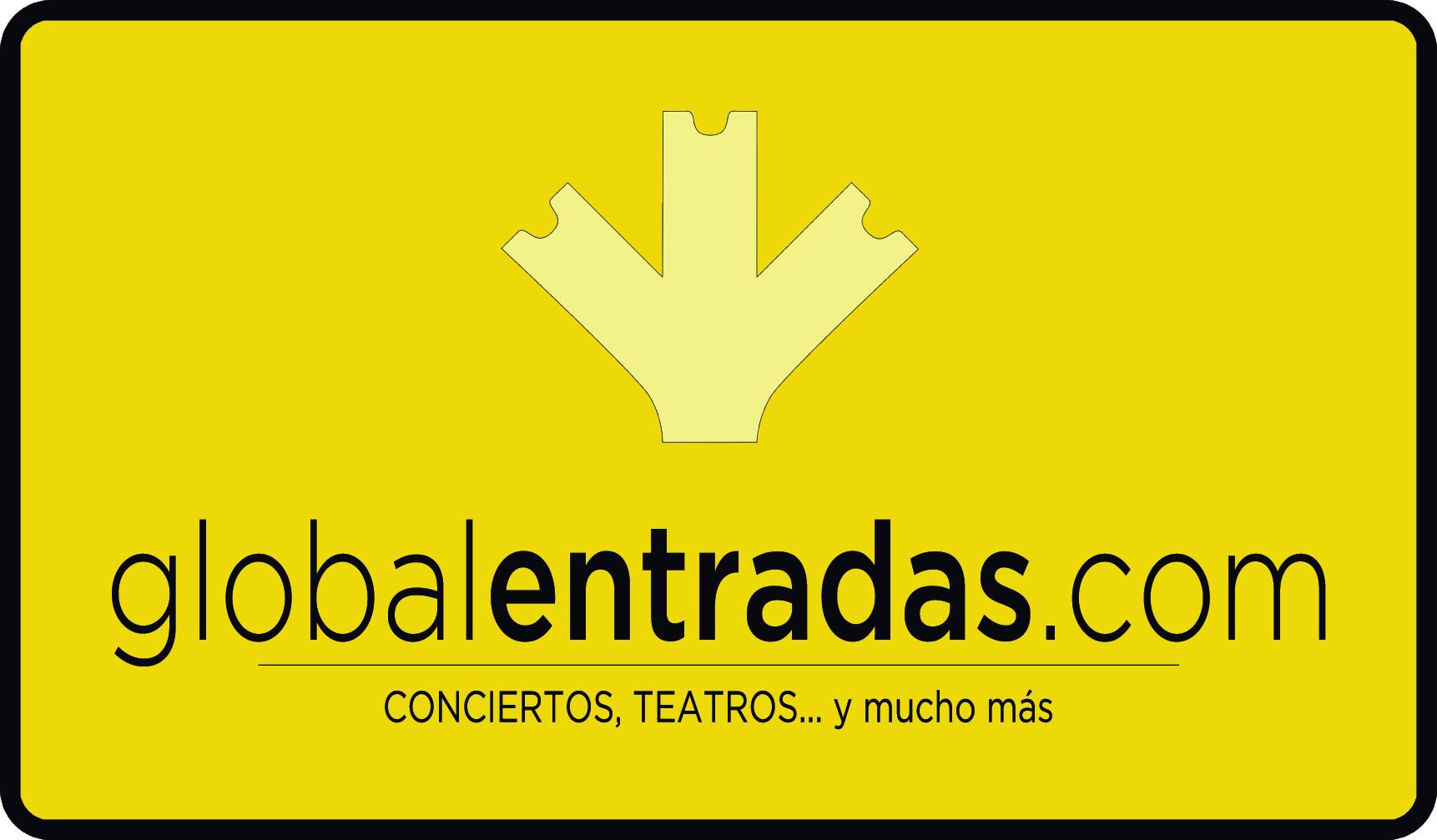 Logo oficial globalentradas Vertical_fondoAmarillo